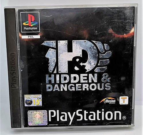 Hidden & Dangerous for Sony PlayStation PS1