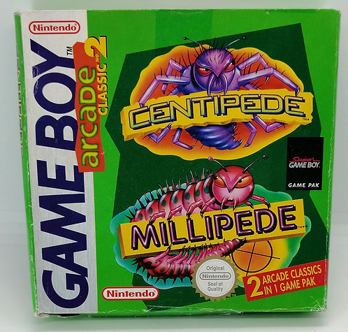 Arcade Classic 2: Centipede / Millipede for Nintendo Game Boy