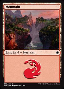 MAGIC THE GATHERING IXALAN Card - 272/289 : Mountain