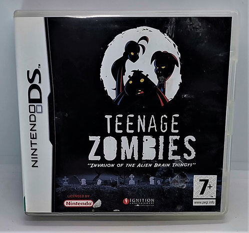 """Teenage Zombies: """"Invasion of the Alien Brain Thingys"""" for Nintendo DS"""