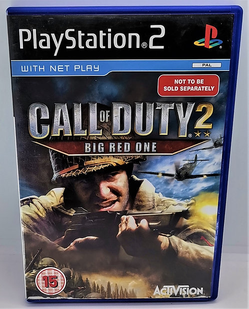Call of Duty 2: Big Red One for Sony PlayStation 2 PS2