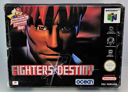 Fighters Destiny for Nintendo N64