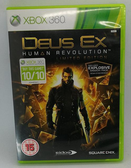 Deus Ex: Human Revolution for Microsoft Xbox 360