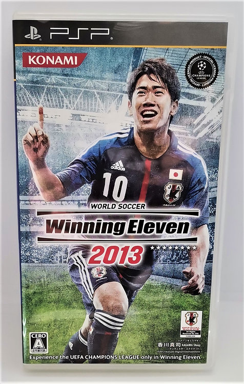 World Soccer Winning Eleven 2013 for Sony PlayStation Portable PSP