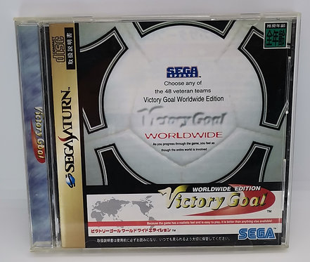 Victory Goal Worldwide Edition for Sega Saturn