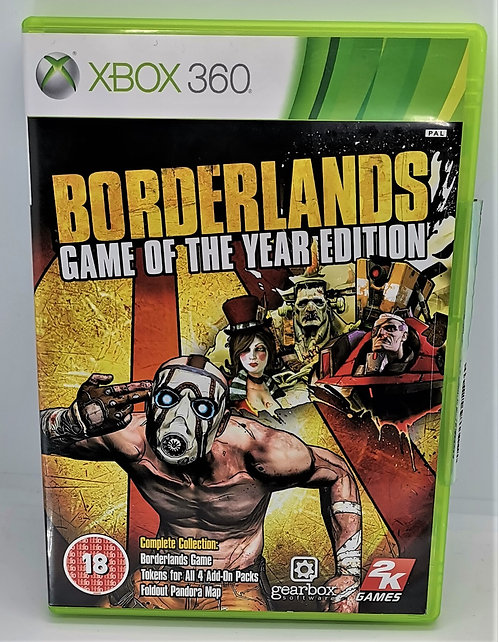 Borderlands: Game of the Year Edition for Microsoft Xbox 360