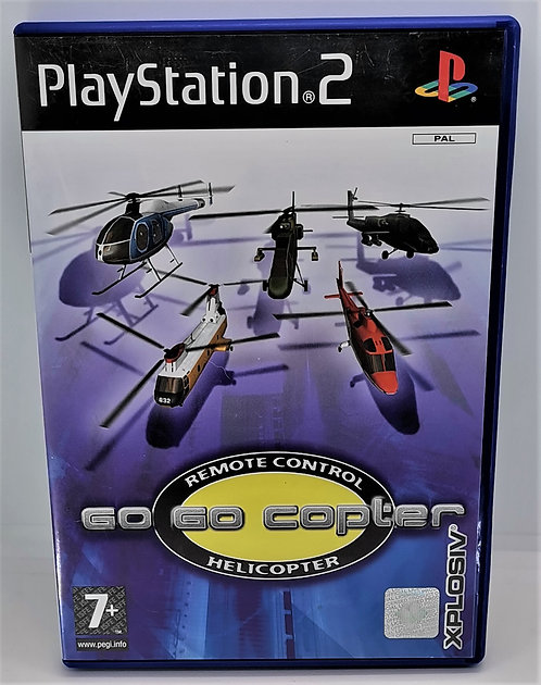 Go Go Copter: Remote Control Helicopter for Sony PlayStation 2 PS2