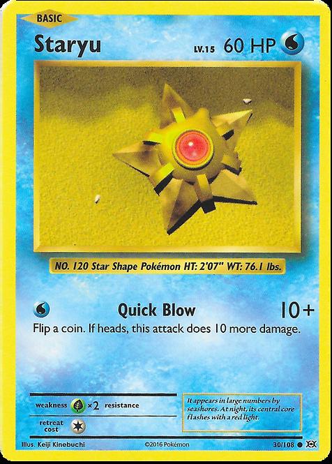 Pokemon Single Card XY - EVOLUTIONS - 030/108 : Staryu
