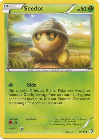 Pokemon Single Card XY - STEAM SIEGE - 009/114 : Seedot