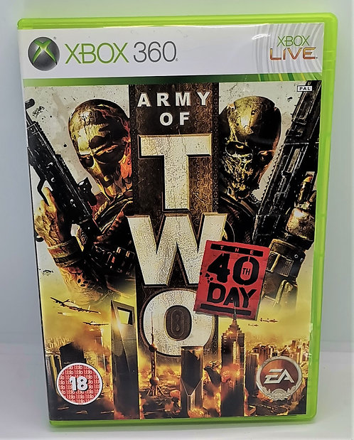 Army of Two: The 40th Day for Microsoft Xbox 360