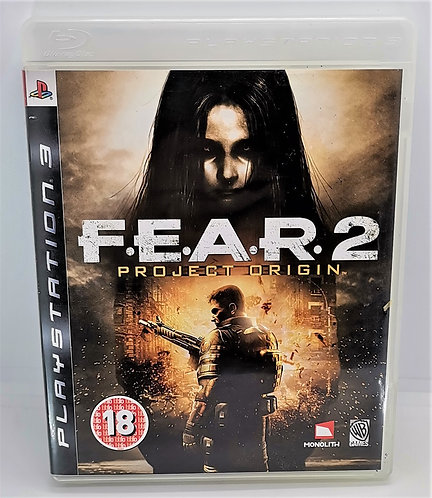FEAR 2: Project Origin for Sony PlayStation 3 PS3