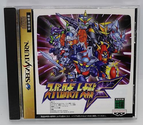 Super Robot Taisen F for Sega Saturn