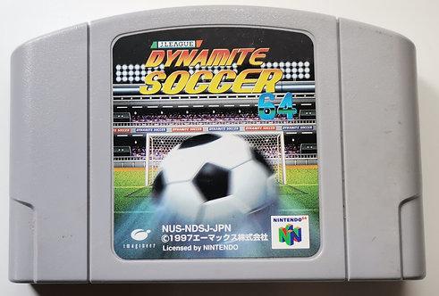 J-League Dynamite Soccer 64 for Nintendo N64