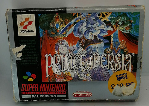 Prince of Persia for Super Nintendo SNES