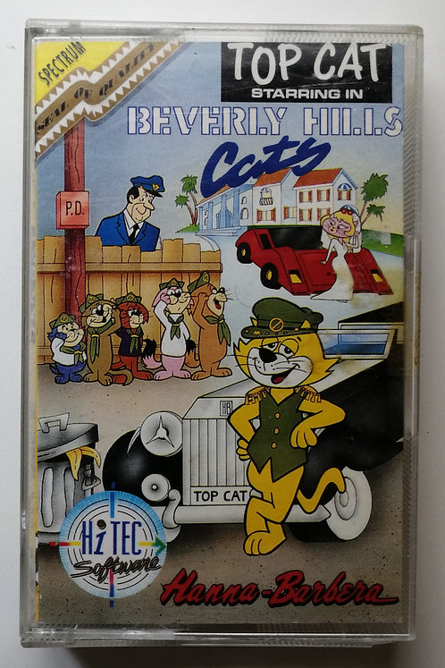 Top Cat Starring in Beverly Hills Cats for Sinclair Spectrum 48K