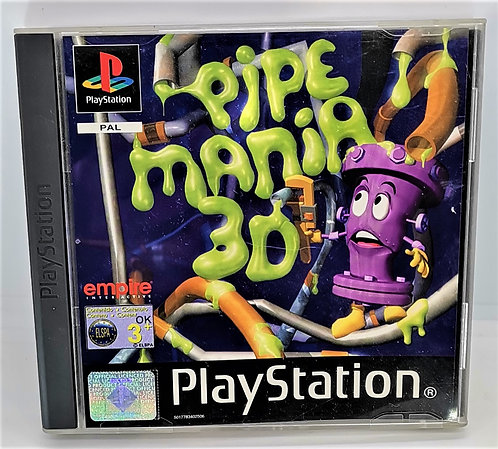 Pipe Mania 3D for Sony PlayStation PS1
