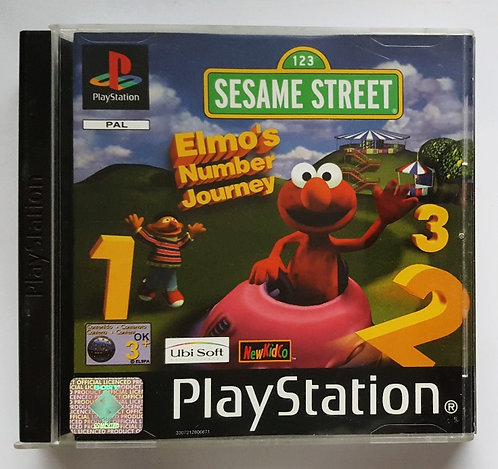 Sesame Street: Elmo's Number Journey for Sony PlayStation PS1
