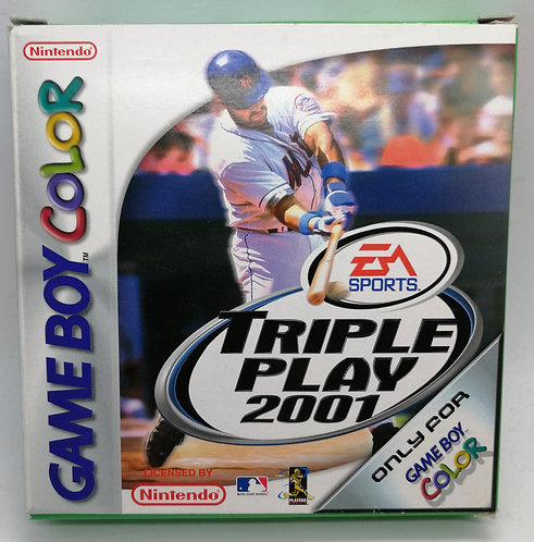 Triple Play 2001 for Nintendo Game Boy Color