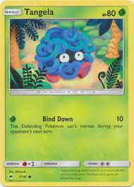 POKEMON Single Card SUN AND MOON - BURNING SHADOWS - 007/147 : Tangela