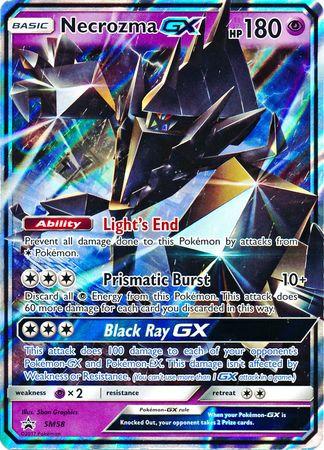 POKEMON Single Promotional Card - Necrozma GX SM58