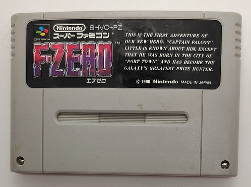 F-Zero for Nintendo Super Famicom