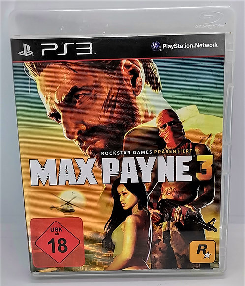 Max Payne 3 for Sony PlayStation 3 PS3