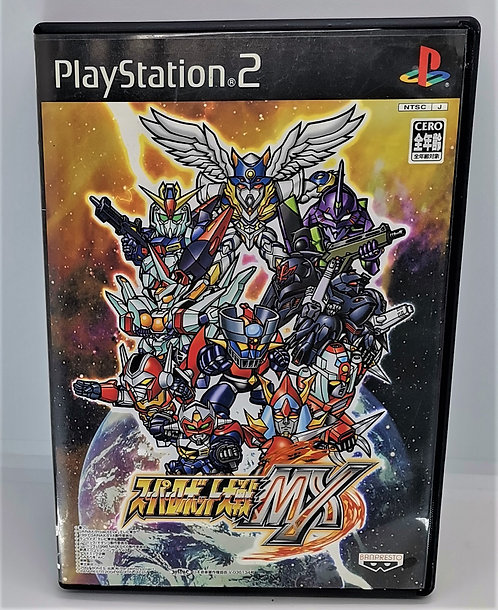 Super Robot Wars MX for Sony PlayStation 2 PS2