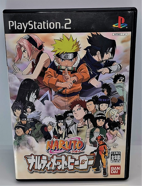 Naruto: Ultimate Ninja for Sony PlayStation 2 PS2