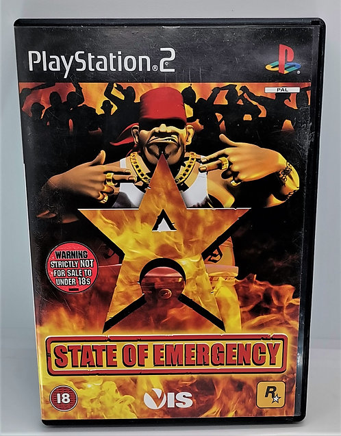 State of Emergency for Sony PlayStation 2 PS2