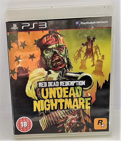 Red Dead Redemption: Undead Nightmare for Sony PlayStation 3 PS3