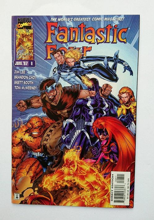 Fantastic Four Vol 2 #8