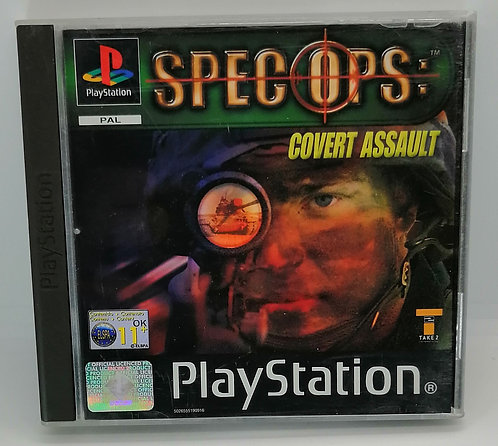 Spec Ops: Covert Assault for Sony PlayStation PS1