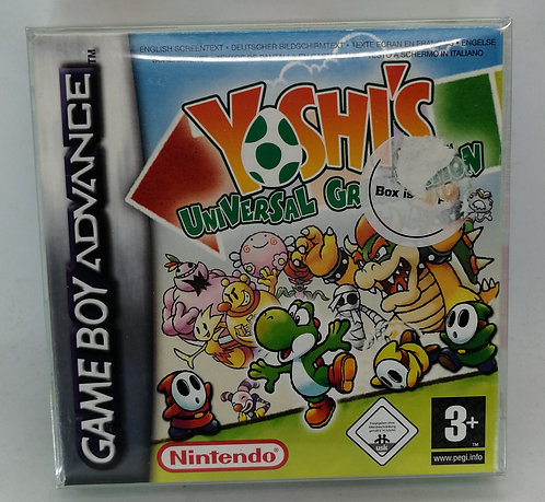 Yoshi's Universal Gravitation for Nintendo Game Boy Advance GBA