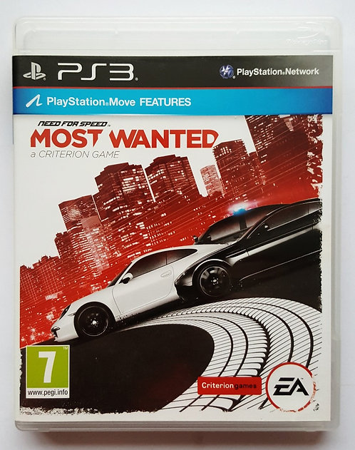 Need for Speed: Most Wanted for Sony PlayStation 3 PS3