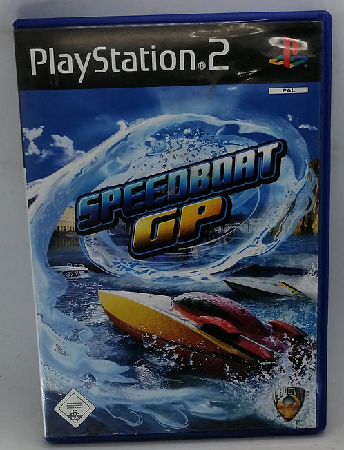 Speedboat GP for Sony PlayStation 2 PS2