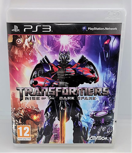 Transformers: Rise of the Dark Spark for Sony PlayStation 3 PS3