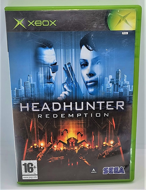 Headhunter: Redemption for Microsoft Xbox