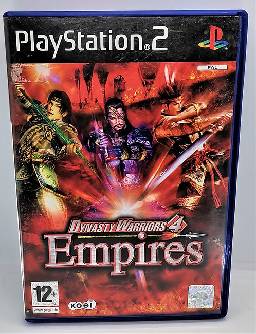 Dynasty Warriors 4: Empires for Sony PlayStation 2 PS2
