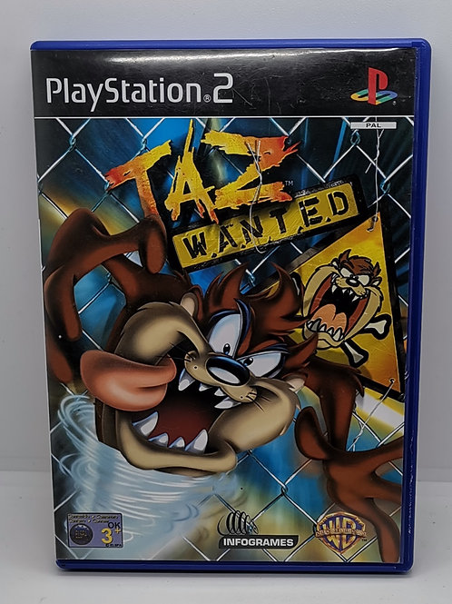 Taz: Wanted for Sony PlayStation 2 PS2