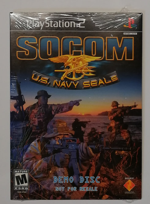 SOCOM U.S. Navy SEALs Demo for Sony PlayStation 2