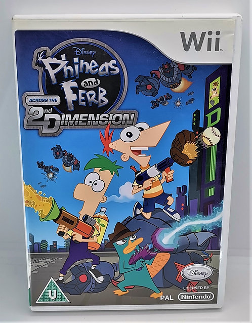 Phineas and Ferb: Across the 2nd Dimension for Nintendo Wii