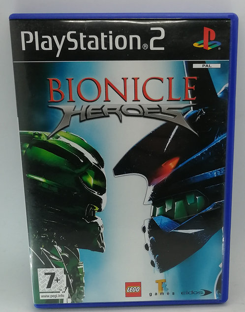 Bionicle Heroes for Sony PlayStation 2 PS2