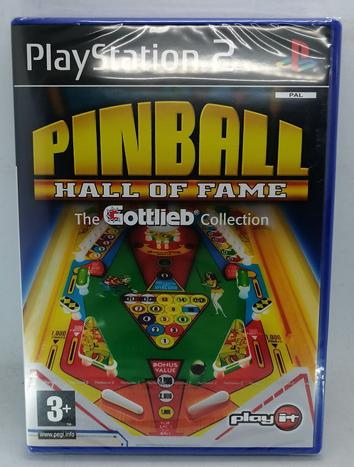 Pinball Hall of Fame: The Gottlieb Collection for Sony PlayStation 2 PS2