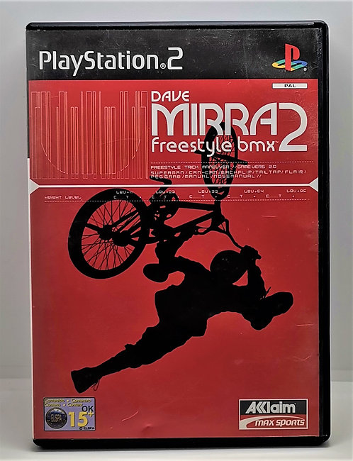 Dave Mirra Freestyle BMX 2 for Sony PlayStation 2 PS2