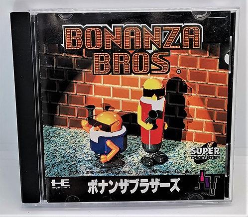 Bonanza Bros. for PC Engine Super CD-ROM²