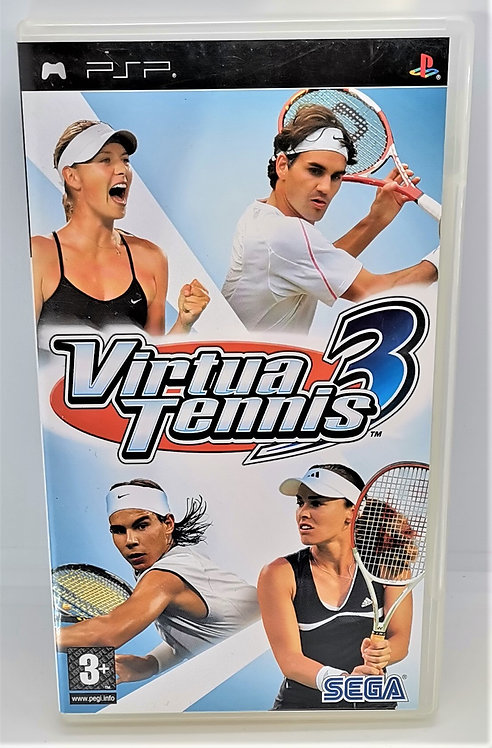 Virtua Tennis 3 for Sony PlayStation Portable PSP