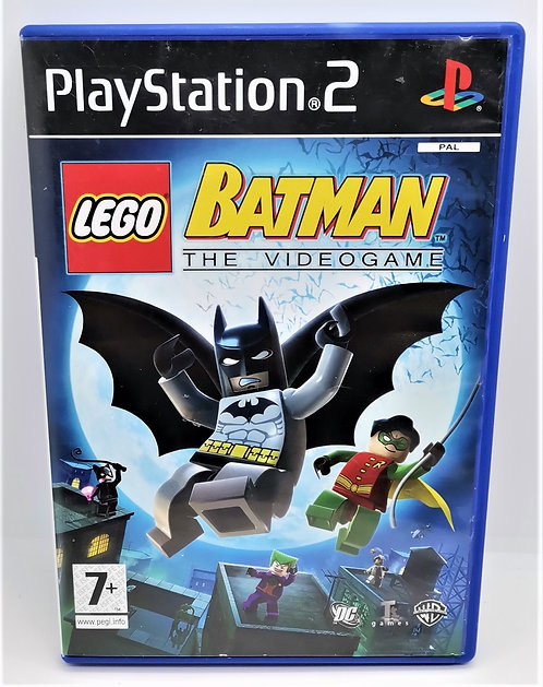 LEGO Batman the Video Game for Sony PlayStation 2 PS2