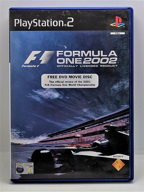 Formula One 2002 for Sony PlayStation 2