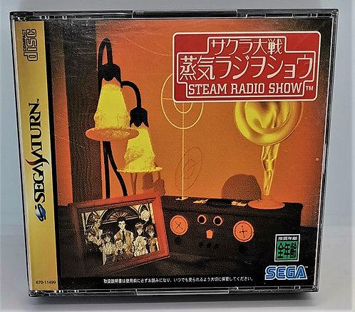 Sakura Wars Steam Radio Show for Sega Saturn