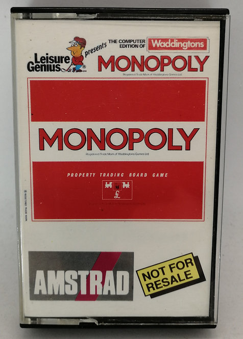 Monopoly for Amstrad CPC